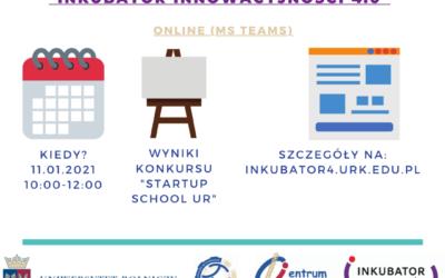 """Posiedzenie Komisji Oceniającej wramach Konkursu """"Startup School UR"""" – Inkubator Innowacyjności 4.0"""