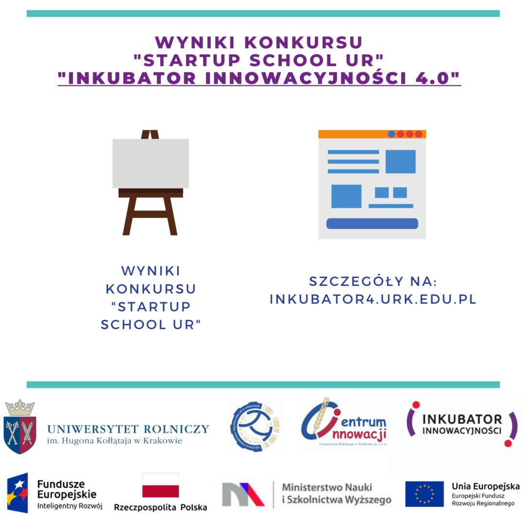 Wyniki Konkursu Startup School UR