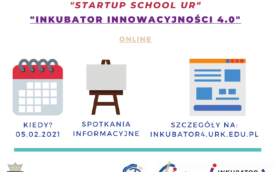 """Information meetings for Team Managers as part of the """"Grant for Innovations – Edition II"""" and """"Startup School UR"""" competitions"""